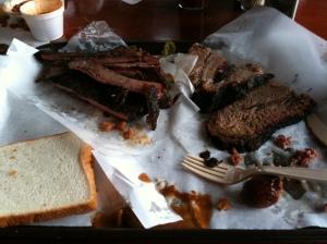 Mueller's, BBQ, ribs, brisket, sausage